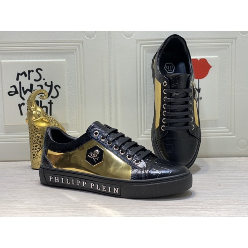 Philipp Plein PP Casual Shoes For Men #849652 $85.00 USD, Wholesale Replica Philipp Plein Shoes
