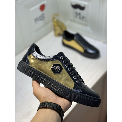 Replica Philipp Plein PP Casual Shoes For Men #849652 $85.00 USD for Wholesale