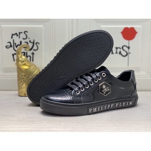 Replica Philipp Plein PP Casual Shoes For Men #849653 $85.00 USD for Wholesale