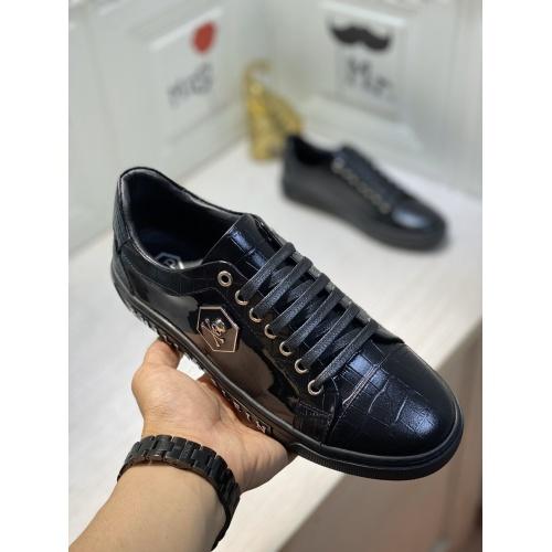 Replica Philipp Plein PP Casual Shoes For Men #849653 $85.00 USD for Wholesale