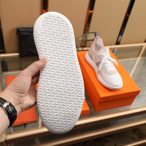 Replica Hermes Casual Shoes For Men #849705 $88.00 USD for Wholesale