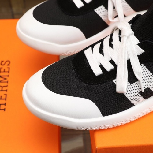 Replica Hermes Casual Shoes For Men #849708 $88.00 USD for Wholesale