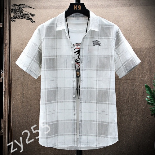 Burberry Shirts Short Sleeved For Men #849784