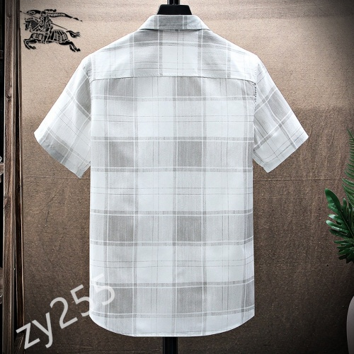 Replica Burberry Shirts Short Sleeved For Men #849784 $34.00 USD for Wholesale