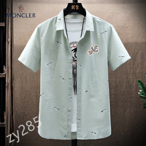 Moncler Shirts Short Sleeved For Men #849785