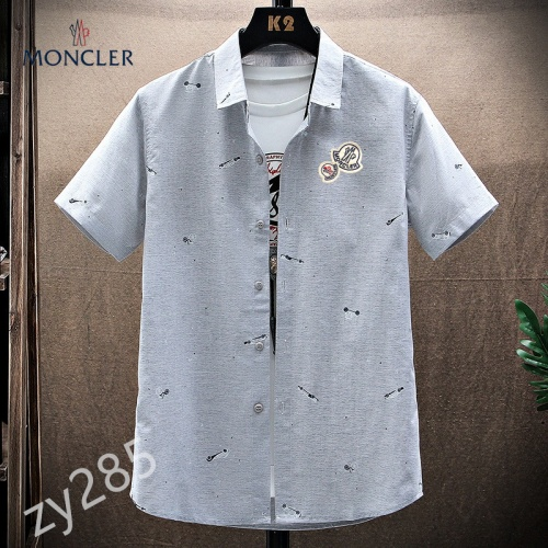 Moncler Shirts Short Sleeved For Men #849786