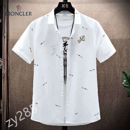 Moncler Shirts Short Sleeved For Men #849787