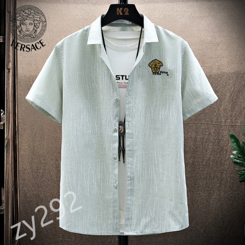 Versace Shirts Short Sleeved For Men #849789