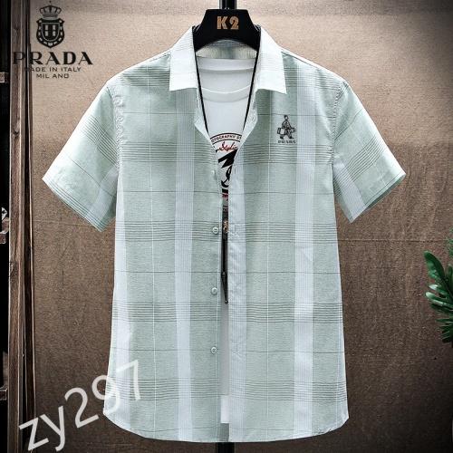 Prada Shirts Short Sleeved For Men #849792