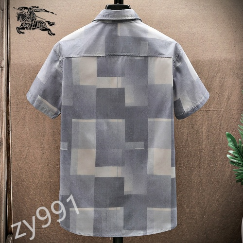 Replica Burberry Shirts Short Sleeved For Men #849800 $34.00 USD for Wholesale