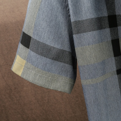 Replica Burberry Shirts Short Sleeved For Men #849802 $34.00 USD for Wholesale