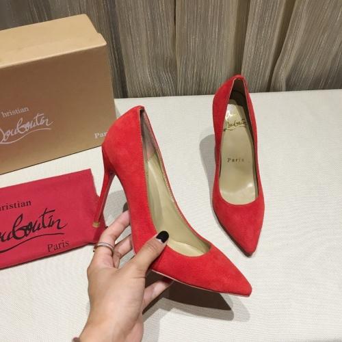Christian Louboutin High-heeled shoes For Women #849803