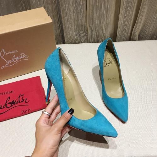 Christian Louboutin High-heeled shoes For Women #849806