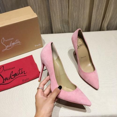 Christian Louboutin High-heeled shoes For Women #849807