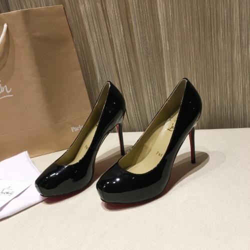 Christian Louboutin High-heeled shoes For Women #849810
