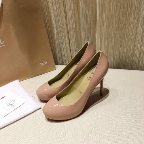Christian Louboutin High-heeled shoes For Women #849811