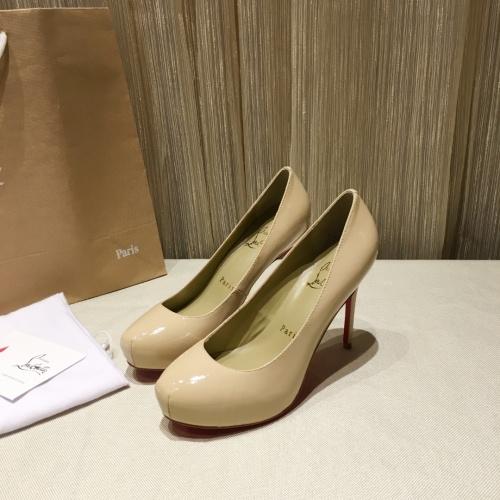 Christian Louboutin High-heeled shoes For Women #849812