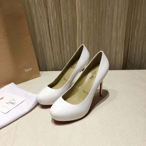 Christian Louboutin High-heeled shoes For Women #849813