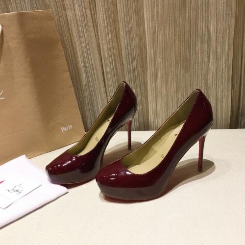 Christian Louboutin High-heeled shoes For Women #849814