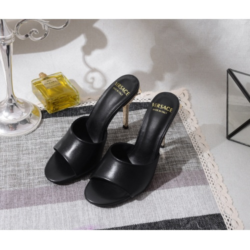 Versace High-Heeled Shoes For Women #849843