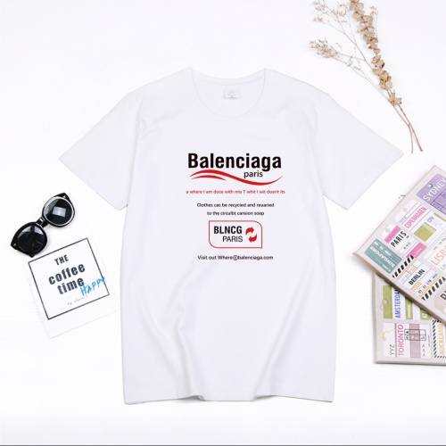 Balenciaga T-Shirts Short Sleeved For Men #849852