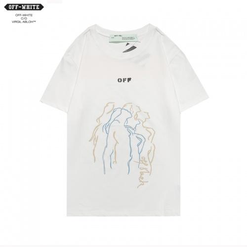 Off-White T-Shirts Short Sleeved For Men #850002