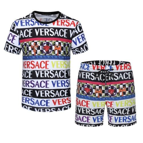 Versace Tracksuits Short Sleeved For Men #850022