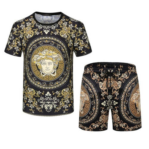 Versace Tracksuits Short Sleeved For Men #850024