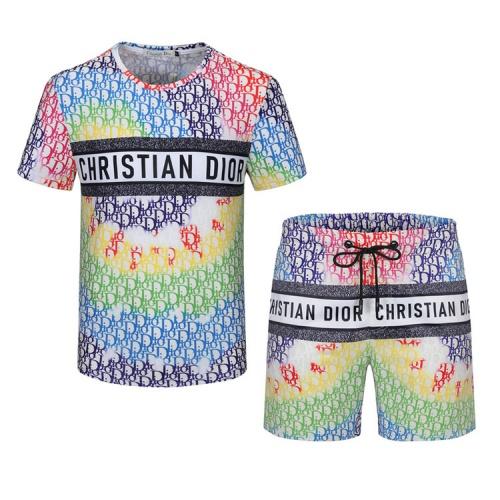 Christian Dior Tracksuits Short Sleeved For Men #850026