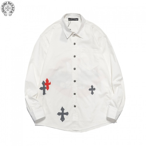 Chrome Hearts Shirts Long Sleeved For Men #850034