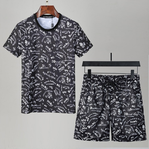 Dolce & Gabbana D&G Tracksuits Short Sleeved For Men #850040
