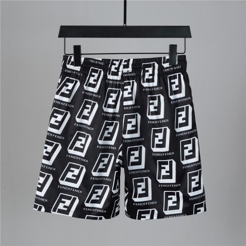 Replica Fendi Tracksuits Short Sleeved For Men #850046 $42.00 USD for Wholesale