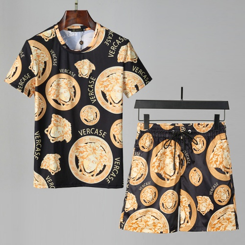 Versace Tracksuits Short Sleeved For Men #850051