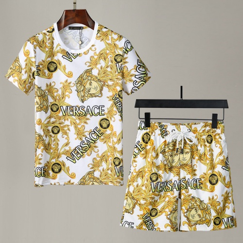 Versace Tracksuits Short Sleeved For Men #850052