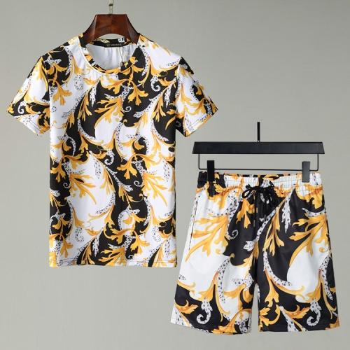 Versace Tracksuits Short Sleeved For Men #850053