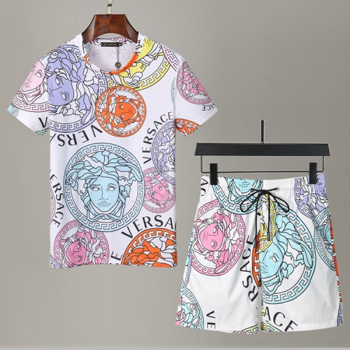 Versace Tracksuits Short Sleeved For Men #850055