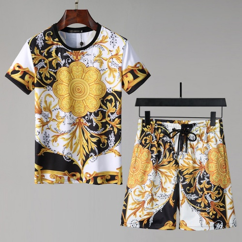 Versace Tracksuits Short Sleeved For Men #850056