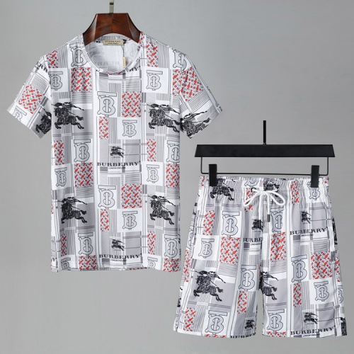 Burberry Tracksuits Short Sleeved For Men #850066