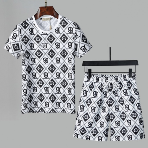 Burberry Tracksuits Short Sleeved For Men #850067