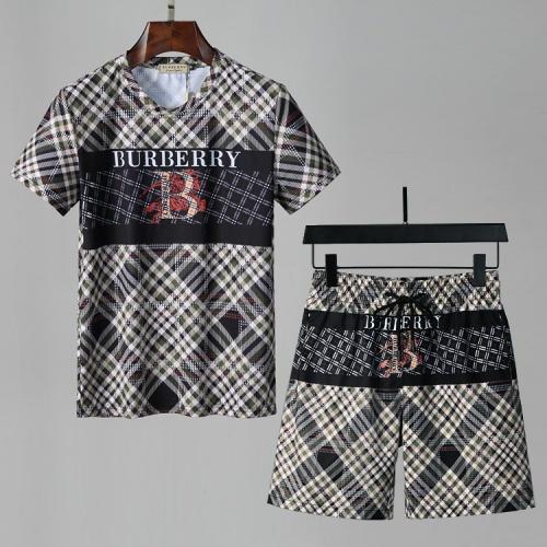 Burberry Tracksuits Short Sleeved For Men #850068