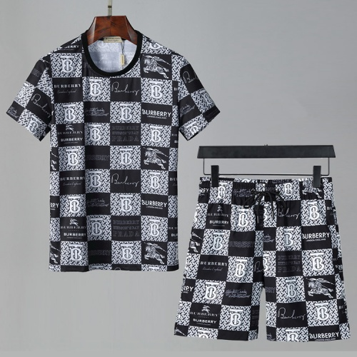 Burberry Tracksuits Short Sleeved For Men #850070