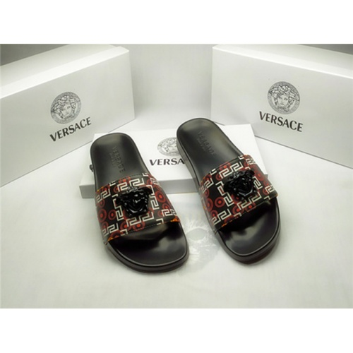 Versace Slippers For Men #850120 $40.00 USD, Wholesale Replica Versace Slippers