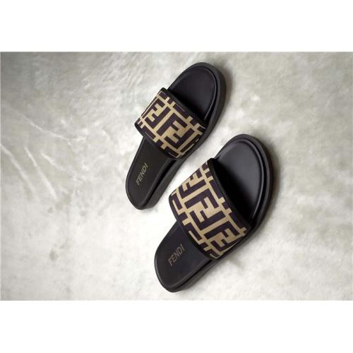Fendi Slippers For Men #850138