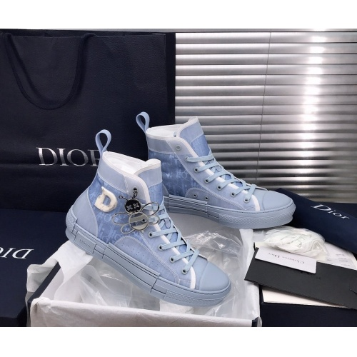 Christian Dior High Tops Shoes For Men #850189