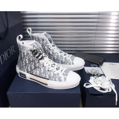 Christian Dior High Tops Shoes For Women #850197