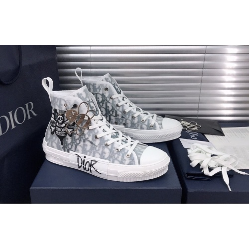 Christian Dior High Tops Shoes For Women #850198