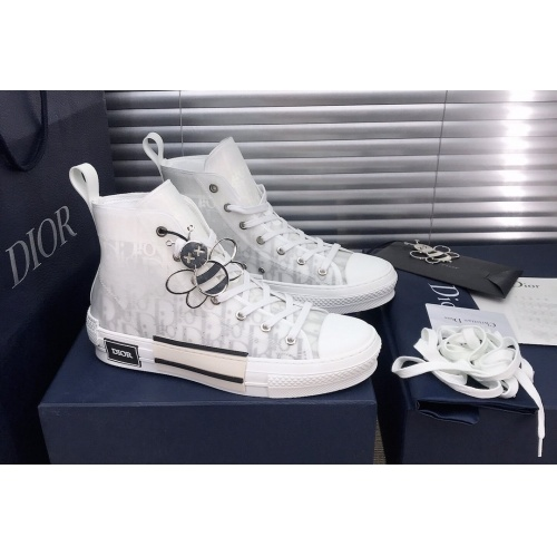 Christian Dior High Tops Shoes For Women #850199