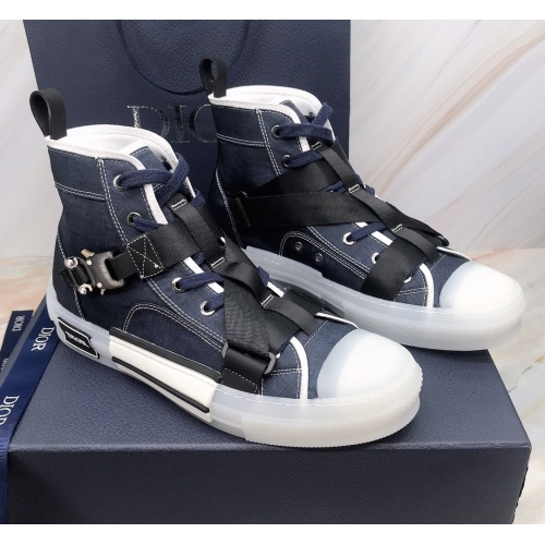 Christian Dior High Tops Shoes For Men #850204