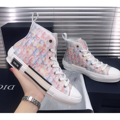 Christian Dior High Tops Shoes For Women #850219 $93.00 USD, Wholesale Replica Christian Dior High Tops Shoes