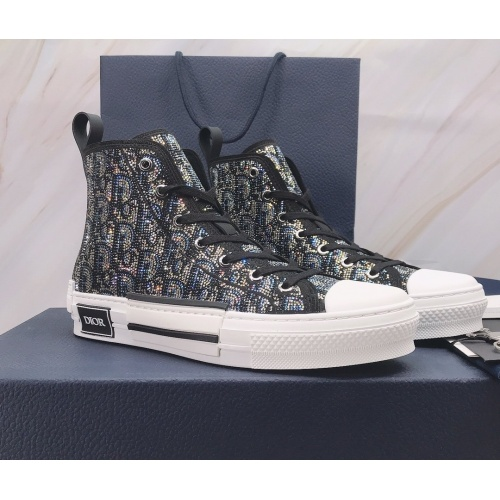 Christian Dior High Tops Shoes For Men #850220
